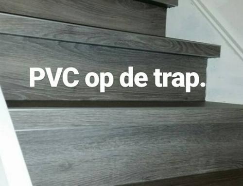 Traprenovatie met PVC