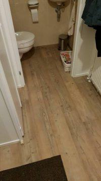 PVC vloer met hout uitstraling in huis
